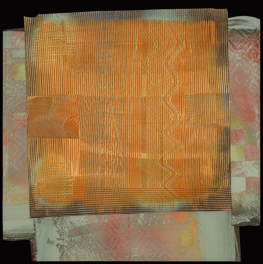 , pellicule dacrylique et résine sur Bois, 51 x 51 cm , (20 x 20